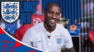 live with ashley young lions den episode eleven world cup 2018