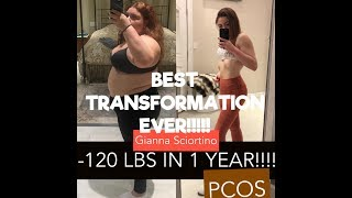 WEIGHT LOSS TRANSFORMATION STORY | -120 LBS | PCOS | Happier & Healthier | Journey to self love