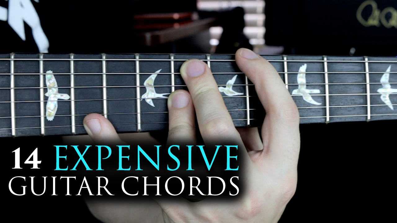 14 expensive guitar chords youtube