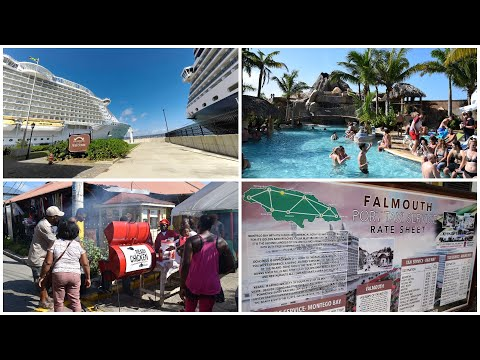 Falmouth Jamaica Cruise Port Revisited (Shopping & Outside the Gate)