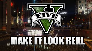 GTA 5 SweetFX Graphics MOD - Make It Look Real v1.1 + Installation (Looks Better And More Realistic)