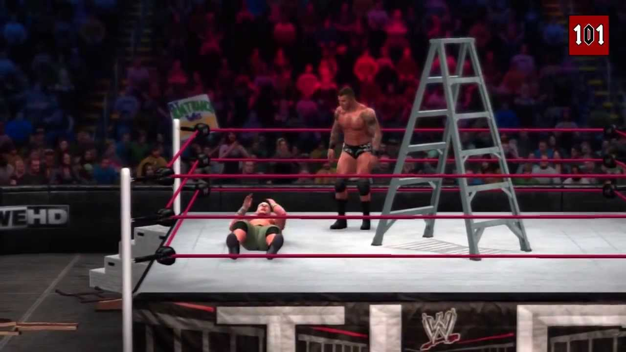 WWE 2K14 MACHINIMA - WWE TLC 2013 - John Cena vs Randy ...  WWE 2K14 MACHIN...
