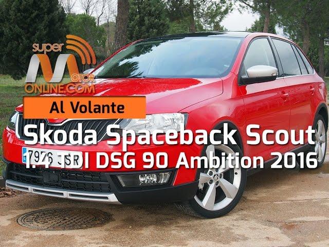 Skoda Spaceback Scout 2016 / Al volante / Prueba dinámica / Review / Supermotoronline.com