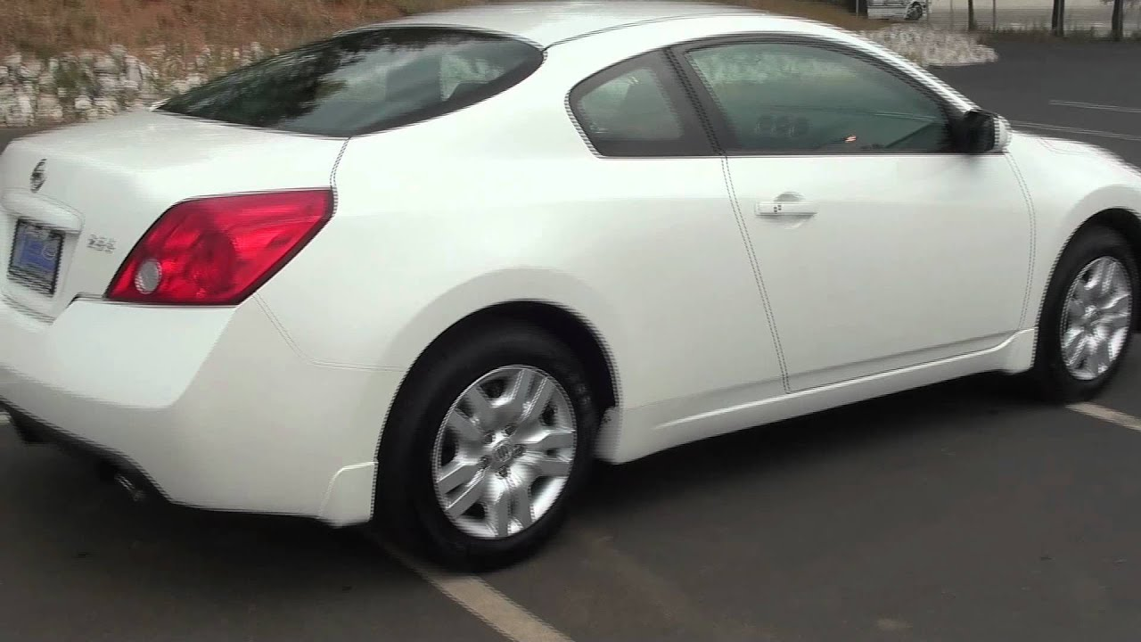 FOR SALE 2009 NISSAN ALTIMA 2.5S!!!! 2 DOOR, CVT XTRONIC !! STK# 11441B    YouTube