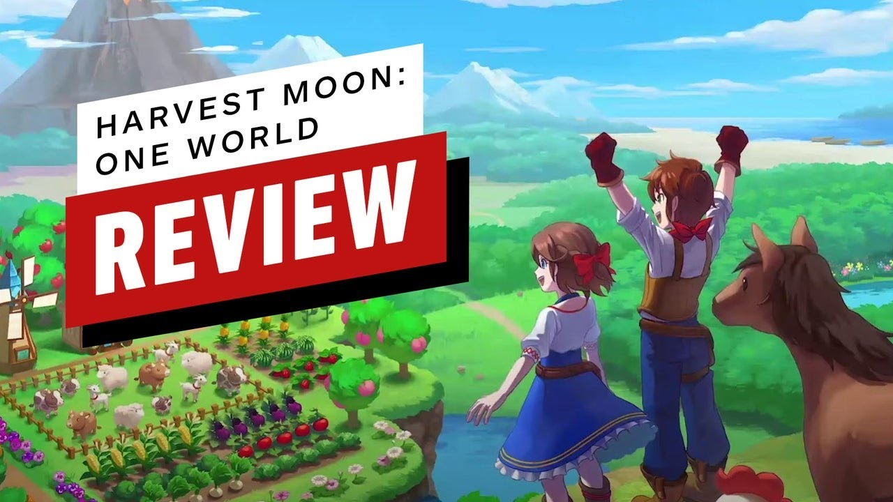 Harvest Moon: One World Review - IGN