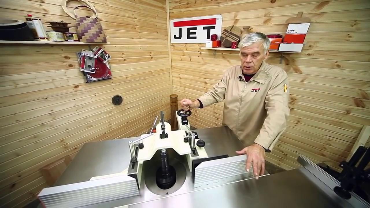 Обзор Фрезерный станок по дереву JET JWS 2900