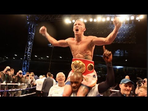 ELLAND ROAD ERRUPTS! - THE MOMENT JOSH WARRINGTON WON THE WORLD TITLE AGAINST LEE SELBY