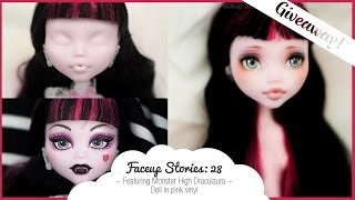 [GIVEAWAY] Faceup Stories: 28 Monster High Draculaura