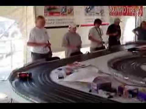 Slot Car Racing BRM's At