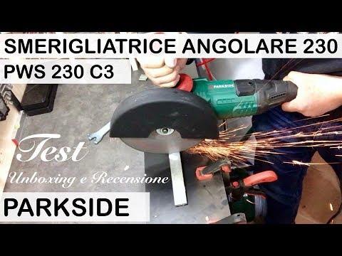 Smerigliatrice angolare 230 lidl parkside recensione pws for Smerigliatrice angolare lidl