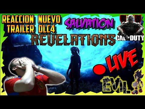 Cod Black Ops 3 Zombies REVELATIONS |REACCION NUEVO Trailer DLC 4 SALVATION + ANALISIS!!! LIVE |HD