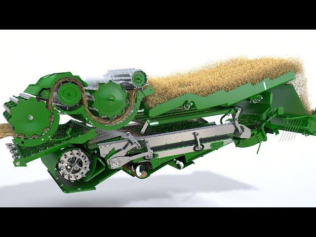 Mietitrebbie John Deere - Serie T - Video animazione