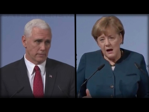 BOOM! MIKE PENCE JUST DESTROYED ANGELA MERKEL RIGHT AFTER SHE REFUSED TO FUND NATO!