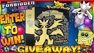 POKEMON FORBIDDEN LIGHT GIVEAWAY OFFICIAL ANNOUNCMENT! SHARE THIS VIDEO!