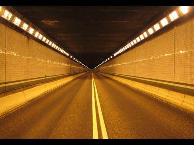 Road tunnel pothole repair with HALIK Soup cold asphalt