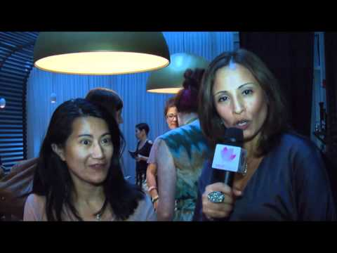 VIVE Katerin at Nolcha NYC Fashion Week Blogger's Brunch
