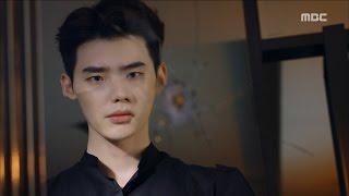 [W] ep.03 Lee Jong-suk shot Han Hyo-joo! 20160727