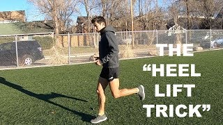 IMPROVE RUNNING FORM TECHNIQUE: HEEL LIFT TIP BY COACH SAGE CANADAY