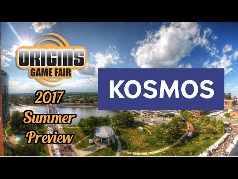 Summer Preview: KOSMOS (Legends of Andor: The Last Hope and A Column of Fire)