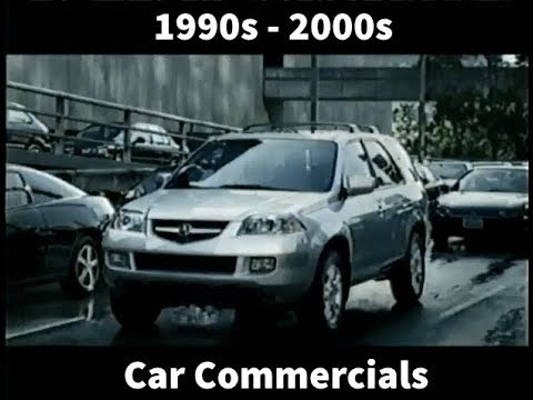 Various Car Commercials from the late 1990s to 2000s