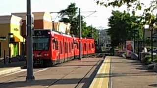 New San Diego Trolley In Santee