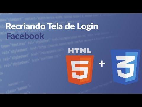 Recriando Tela De Login Do Facebook [HTML + CSS]