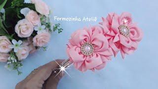 Tiara luxo de flores – Poly Formozo