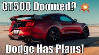 2020 GT500 Doomed Already? Dodge Has *HUGE PLANS!*
