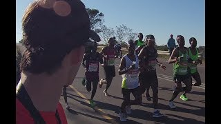 2017 Comrades Marathon - Elite seconding