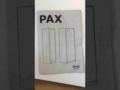 Ikea Pax 2 36m Scharnierhalterungen In Welche Locher Abgezahlte Erklarung Youtube