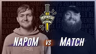 Napom vs Match Beatbox Legends Championships 2019 Top 16