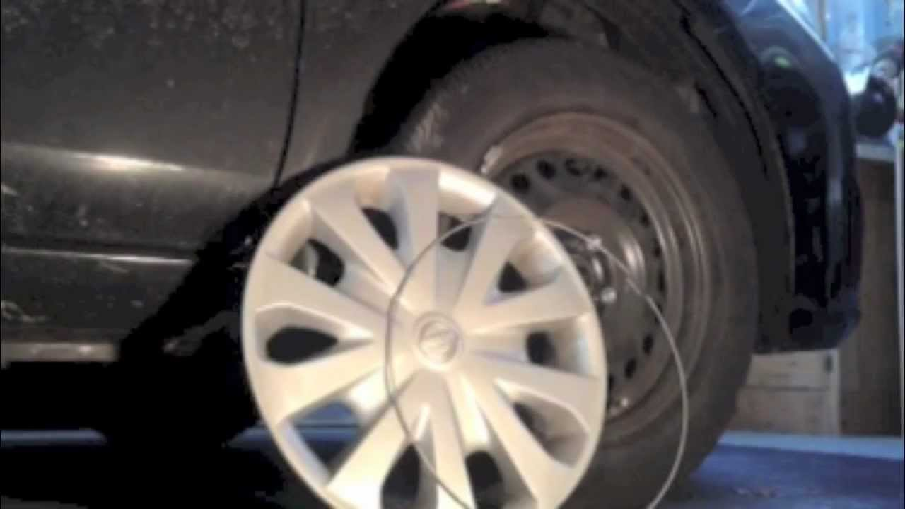 medium resolution of how to install a hubcap
