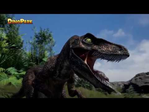Fino Dino a Dina Mina Poprvé v DinoParku