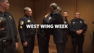 """West Wing Week 7/15/16 or,  """"One American Family"""""""