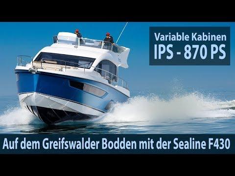 Sealine F430 – Wir Testen Die Flybridge Mit 870 PS