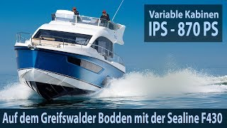 Sealine F430 – Wir testen die Flybridge mit 870 PS Mp3