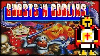 GHOSTS 'N GOBLINS (Arcade/1985) | Retro Rumble #8