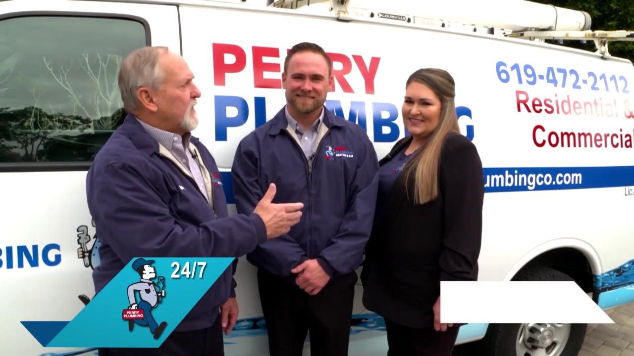 Perry Plumbing Pipe Lining Premier San Diego Plumbing Company