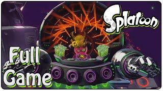 Splatoon Full Game (100% Walkthrough)