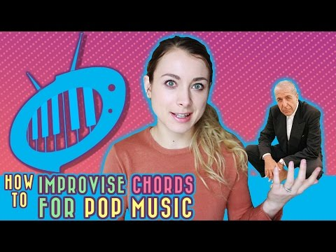 How to Improvise Chords for Pop Music for Beginners