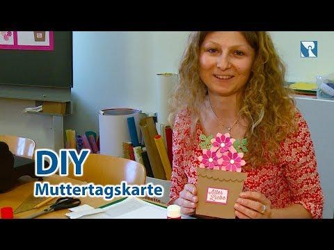 Muttertagskarte gestalten - DIY Geschenk zum Muttertag