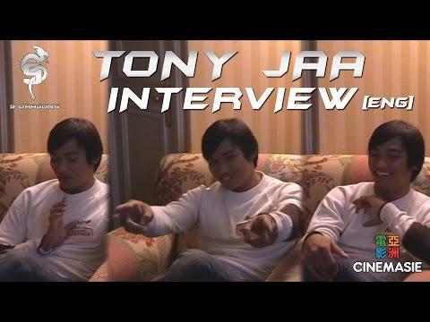 Tony Jaa Interview [ENG - Paris - 2005]