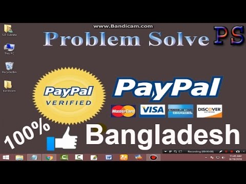 How To Get 100% PayPal Verification in Bangladesh 2016 for neteller virtual card | Problem solve