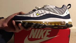 buy online 1ff09 6b462 Nike Air Max 98 Tour Yellow Review + On Feet