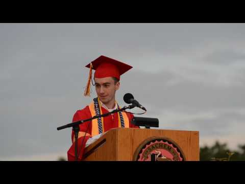 2017 Sachem East Graduation: Class President, Brendan Foy,