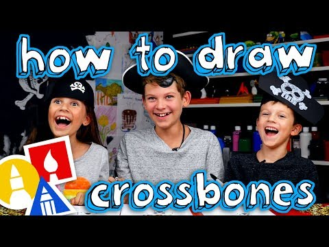 How To Draw A Skull And Crossbones