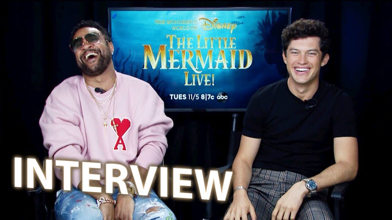 Who Is Graham Phillips? 'The Little Mermaid Live's Prince Eric Is ...