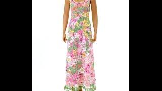 Платье вязаное крючком в технике ирландского кружева.  Irish Lace Dress