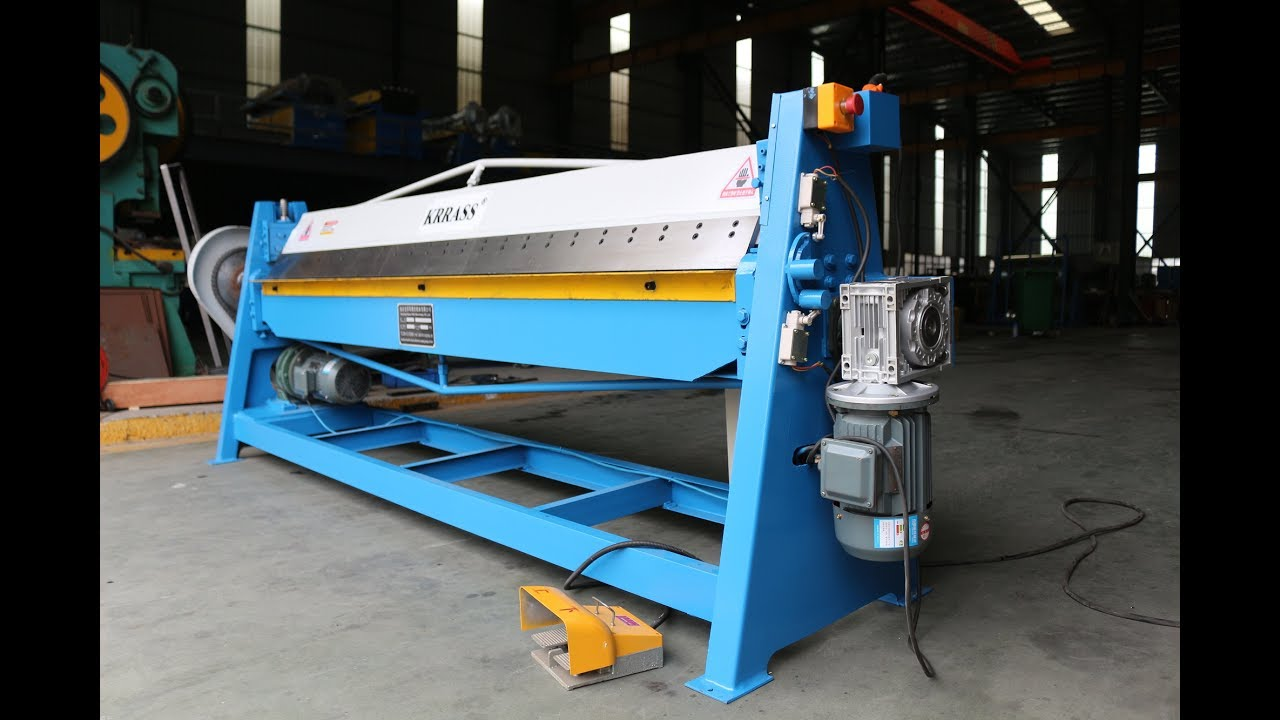 Wd 1 5 2500 Electric Sheet Metal Folding Machine 45 135