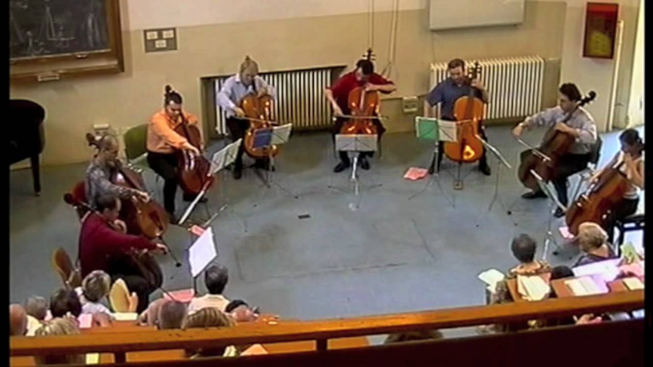 Astor Piazzolla Oblivion Na 8 Celli By Janczak R A